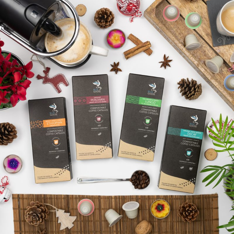 Blue Goose Eco Coffee Pod Gift Collection Christmas Gift Pack