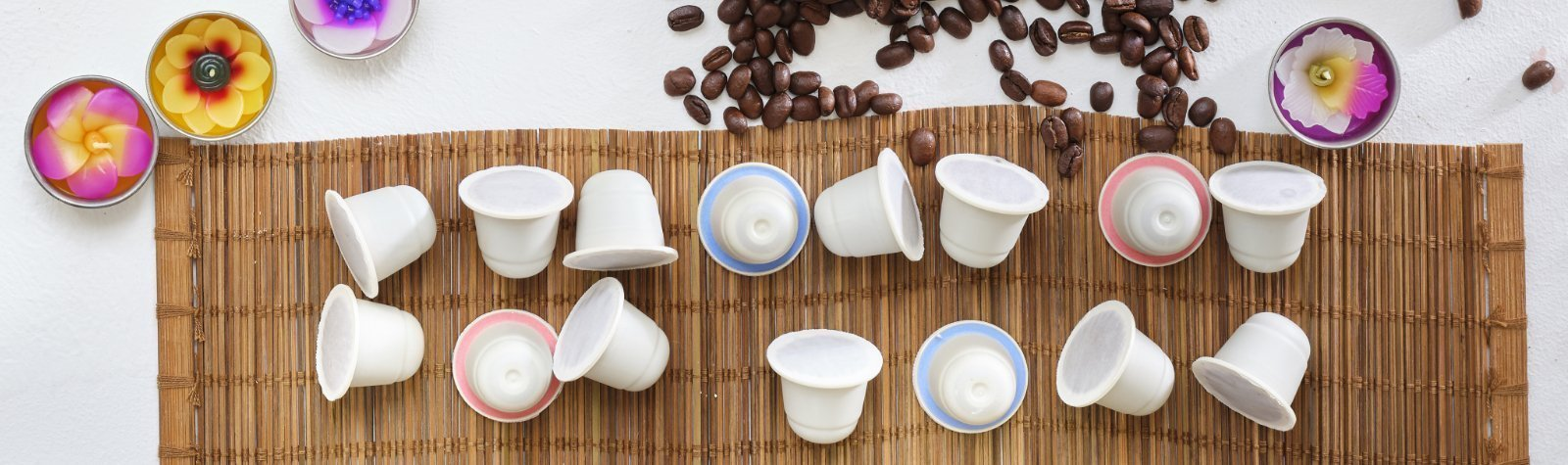 eco friendly coffee pods - compostable coffee capsules - compostable nespresso pods - eco coffee pods Compostable Nespresso pods