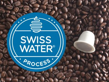 What does Swiss Water Decaf mean - Blue Goose® Swiss Water Compostable Biodegradable Coffee Capsules pods Nespresso (r) compatible