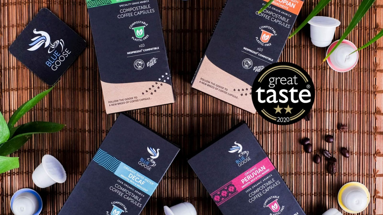 Blue Goose Eco Coffee Pod Capsules Great Taste Which Best Buy Nespresso Compatible Pods