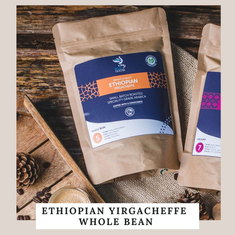Ethiopian Yirgacheffe Whole Bean Coffee